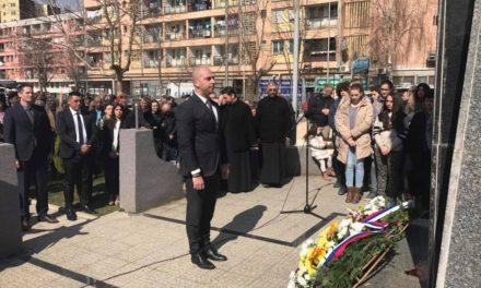 У К.Митровици обележено 13 година од мартовског погрома