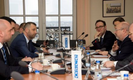 Sastanak sa sekretarom OEBS-a