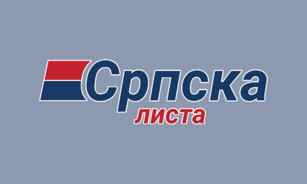 Srpska lista podnela žalbu zbog kazne za spot