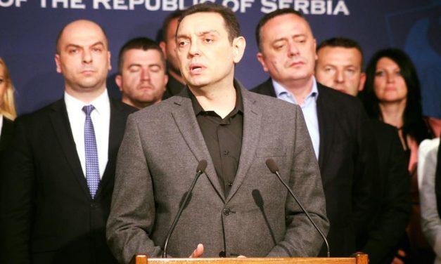 Vulin pozvao Srbe na Kosmetu da glasaju za Srpsku listu