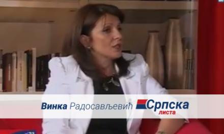 Vinka Radosavljević – Gostovanje na TV Mostu