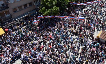 K.MITROVICA : Zajedno za Srpsku listu 11.juna