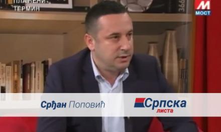Srđan Popović – Gostovanje na TV Mostu