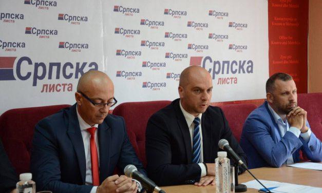 Изабрано председништво и председник Српске листе