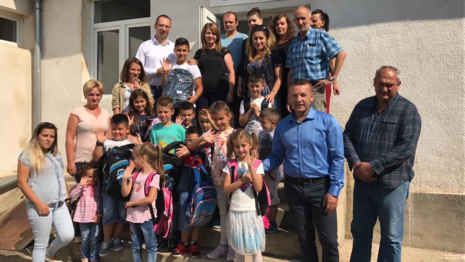 Посета ученицима у Старом Грацком