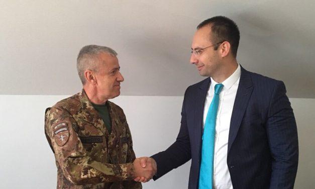 Igor Simić se susreo sa Komandatom KFOR-a
