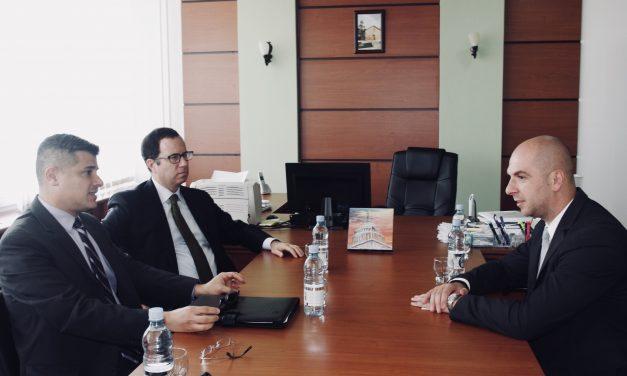 Sastanak potpredsednika Skupštine sa Direktorom Nacionalnog demokratskog instituta
