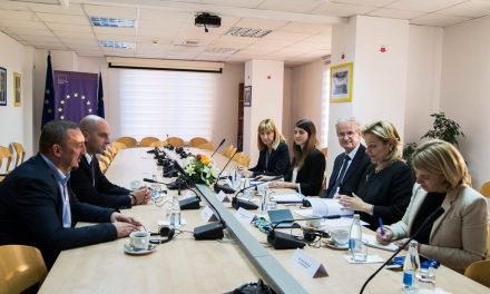 Састанак представника Српске листе, са генералним секретаром Европске комисије