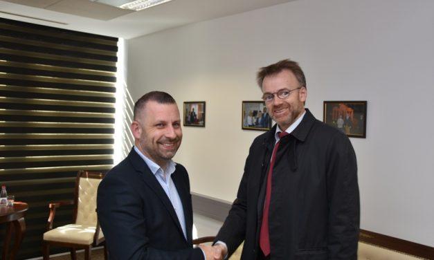 Јевтић са амбасдором Норвешке