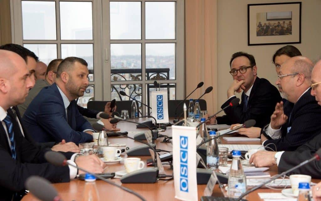 Састанак са секретаром ОЕБС-а