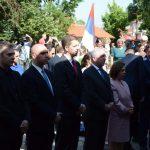 Видовданска литургија у порти манастира Грачаница