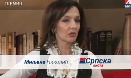 Миљана Николић – гостовање на ТВ Мосту