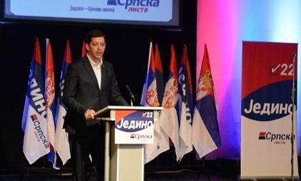Đurić: Jedino Srbija, jedino Srpska, svi kao jedan do pobede