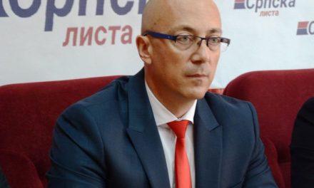 Rakić: Srpska lista zahvalna na podršci koju dobija od Putinove Jedinstvene Rusije