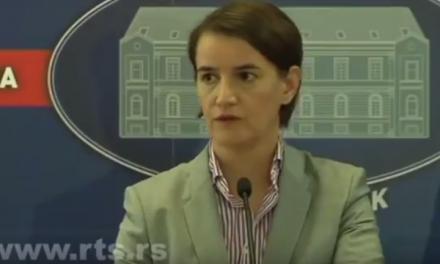 Брнабић: Безрезервна подршка Владе Србије Српској листи
