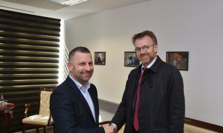 Jevtić sa ambasdorom Norveške